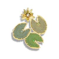 18kt Yellow Gold w/ Diamond, Emerald, Tourmaline, Peridot