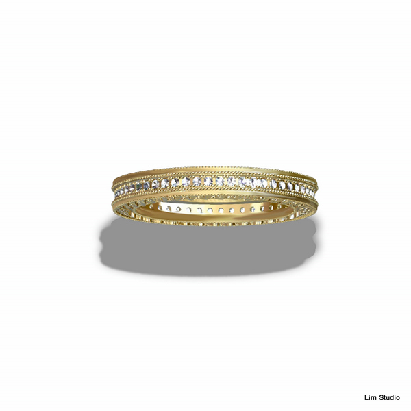 18kt Yellow Gold, Diamonds